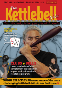 kettlebells v indian clubs, kettlebell games, tough execises, pistol 1 leg squat