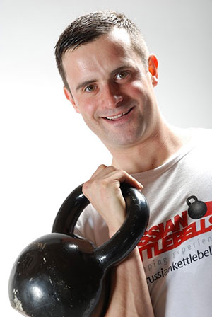 jamie Lloyd Kettlebell instructor