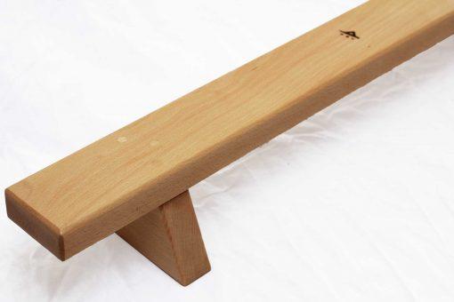 shena classic pushup board in hardwood