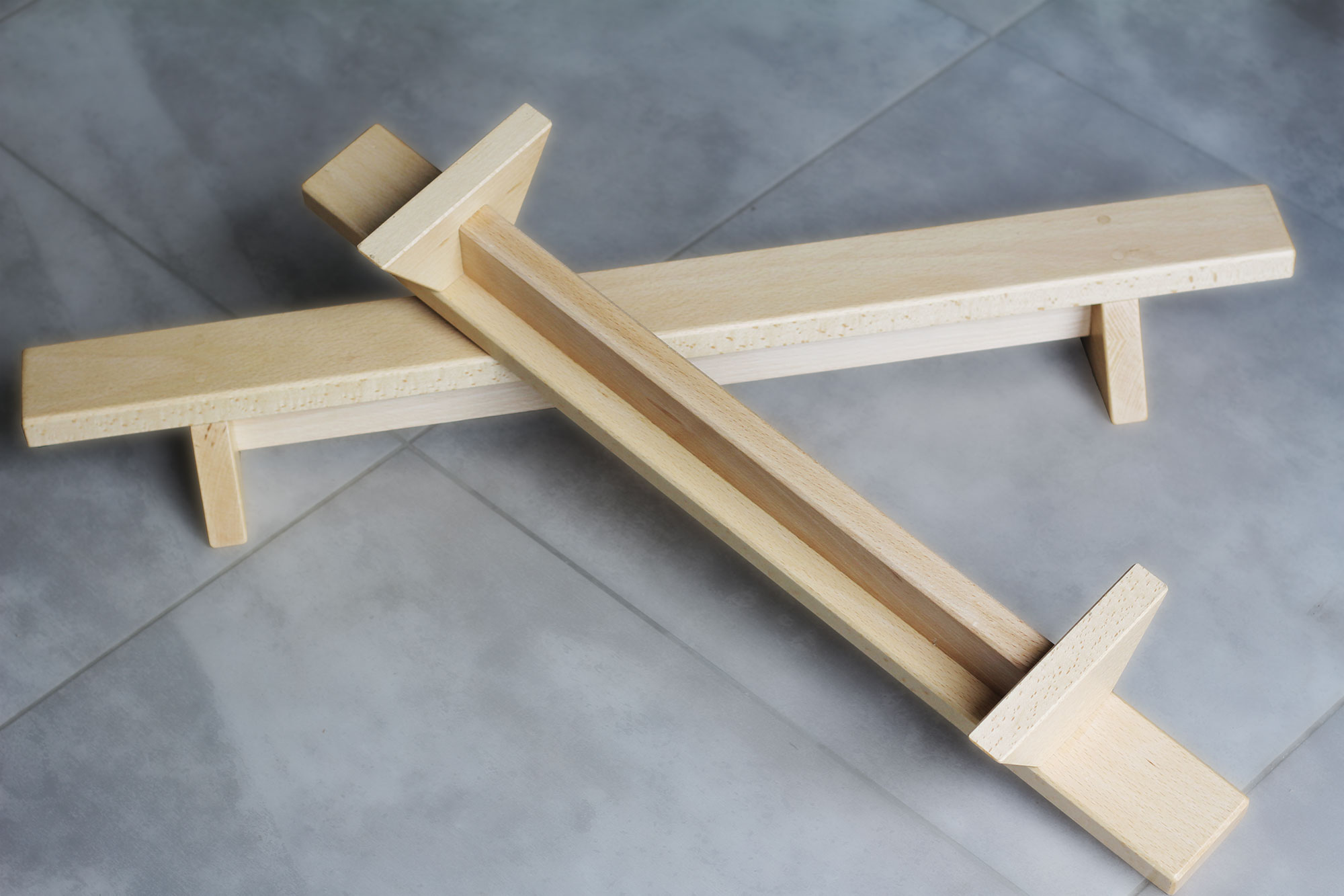 shena pushup boards are hand made from hardwood by UK craftsman