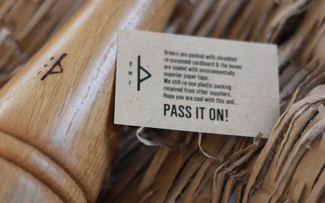 Recycled packaging… Pass it on!