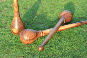 adjustable wooden mace