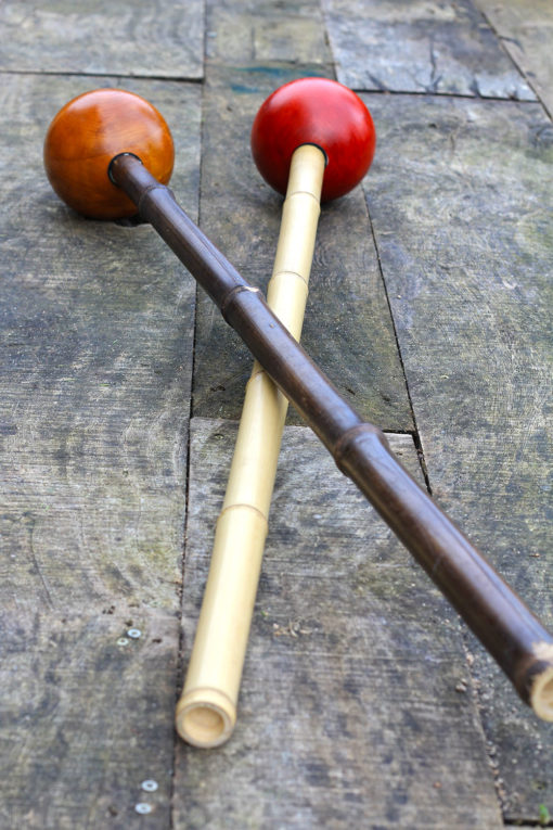 beginners mace or maceflow with bamboo handle