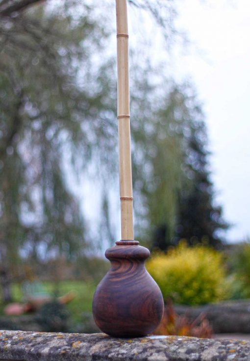 wood gada/mace