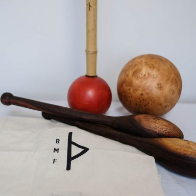 light mace, taichi ball and teardrop Indian clubs