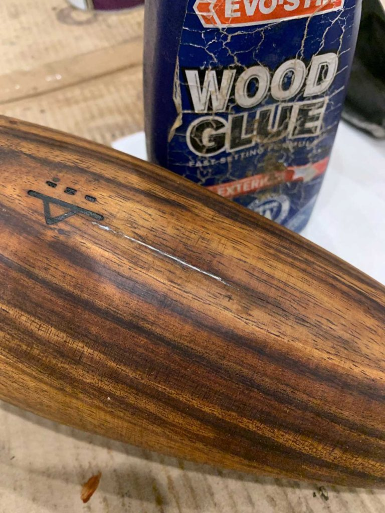 gluing wood club
