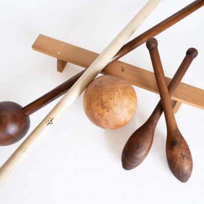 Pivot Kit – wood fitness tools with dragon's pearl to exercise 3D movement, strength and flow